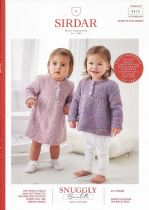 Sirdar Snuggly Bouclette Knitting Pattern Booklet - 5312 Dress & Sweater